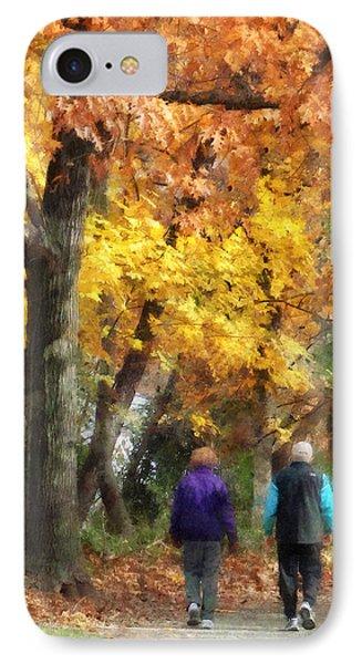 Autumn Stroll Phone Case by Susan Savad