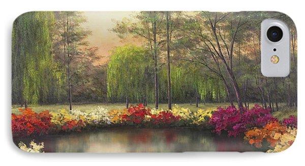 Autumn Sunset Phone Case by Diane Romanello