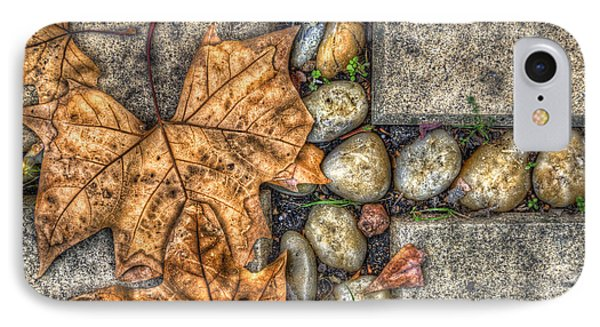Autumn Texture Phone Case by Wayne Sherriff