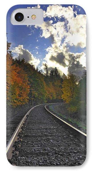 Autumn Tracks IPhone Case