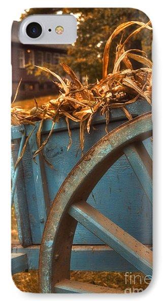 Autumn Wagon Phone Case by Joann Vitali