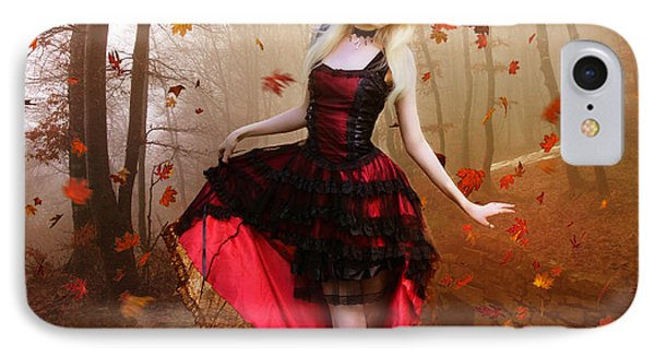Autumn Waltz IPhone Case by Mary Hood