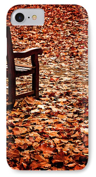 Autumnal Colours IPhone Case by Lenny Carter