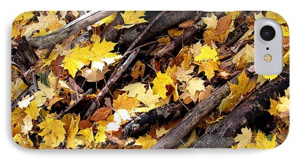 Autumnal Melody IPhone Case by Leon Zernitsky