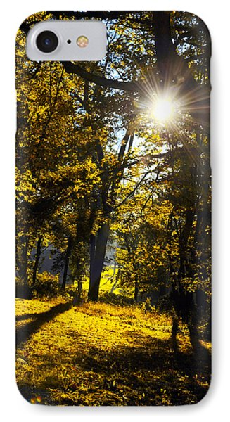 Autumnal Morning Phone Case by Bill Cannon