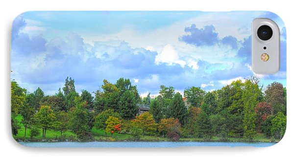 IPhone Case featuring the photograph Autumn's Beauty At Hoyt Lake by Michael Frank Jr