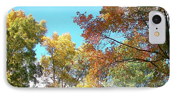 IPhone Case featuring the photograph Autumn's Vibrant Image by Pamela Hyde Wilson