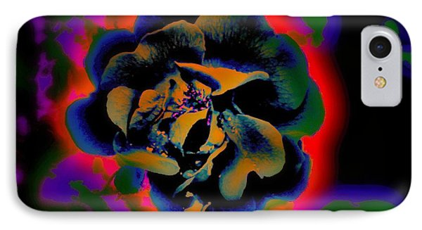 IPhone Case featuring the digital art Avatar Rose 01 by Greg Moores
