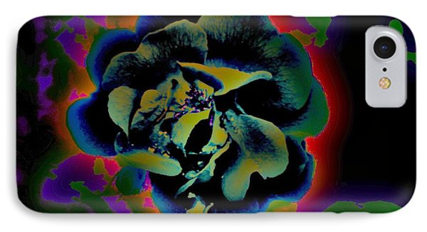 IPhone Case featuring the digital art Avatar Rose 2 by Greg Moores