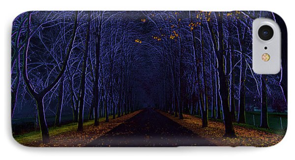Avenue Of Trees Phone Case by Michal Boubin