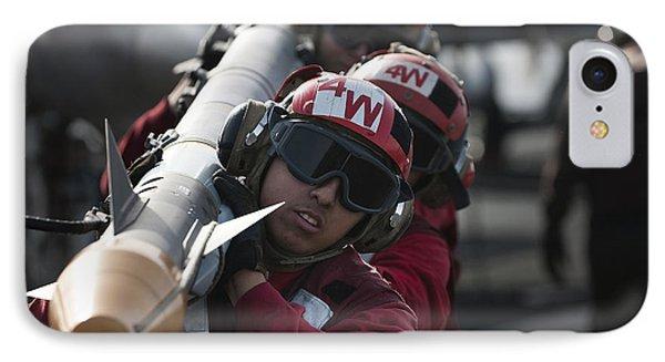 Aviation Ordnancemen Carry An Phone Case by Stocktrek Images