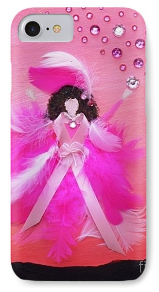 IPhone Case featuring the painting Awareness by Alys Caviness-Gober