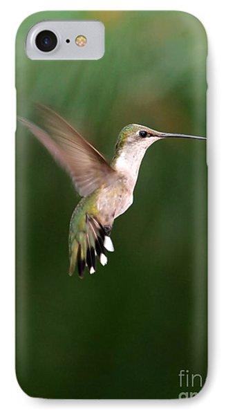Awesome Hummingbird Phone Case by Sabrina L Ryan