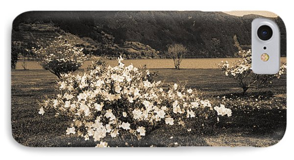 Azaleas By The Lake Phone Case by Gaspar Avila