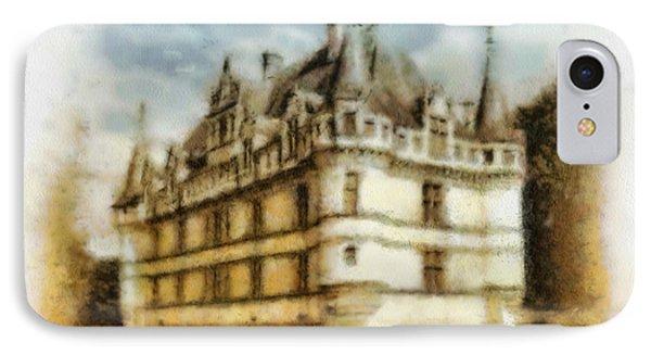 Azay Le Rideau Phone Case by Mo T