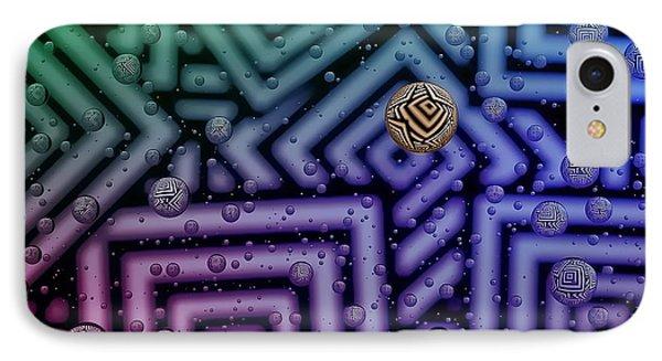 Azteca 1 IPhone Case by Mark Fuller