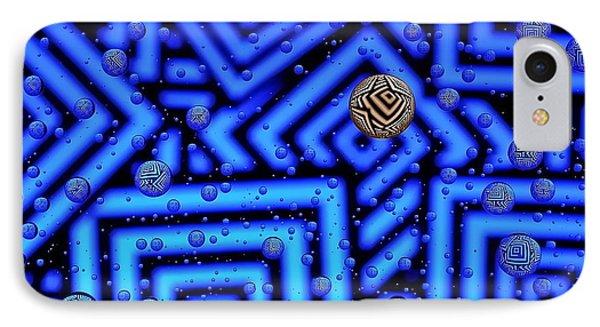 Azteca 2 IPhone Case by Mark Fuller