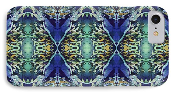 Azuraz Candle Tiled IPhone Case by Sue Duda