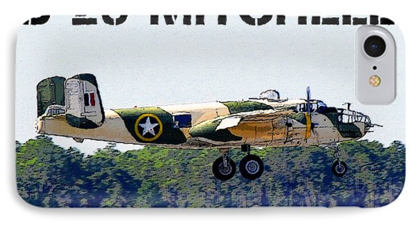 B 25 Mitchell Bomber Phone Case by David Lee Thompson