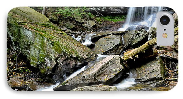 B Reynolds Falls Phone Case by Frozen in Time Fine Art Photography