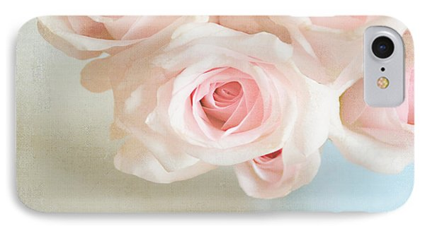 Baby Pink Roses Phone Case by Lyn Randle