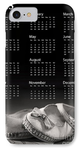 Baby Shoes Calendar 2013 Phone Case by Jane Rix