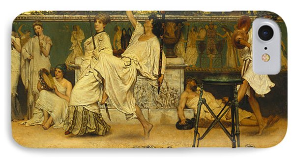 Bacchanal Phone Case by Sir Lawrence Alma-Tadema