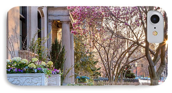 IPhone Case featuring the photograph Back Bay Spring by Susan Cole Kelly