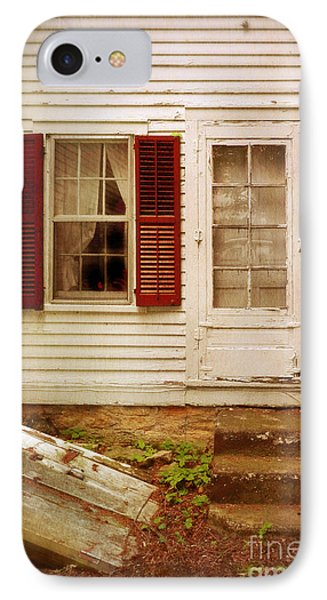 Back Door Of Old Farmhouse Phone Case by Jill Battaglia
