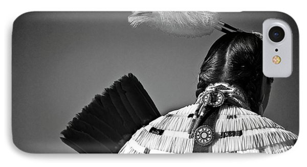 Back Feather Phone Case by Diego Re