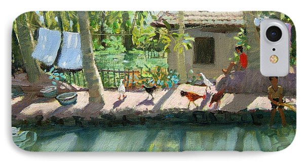 Backwaters India  Phone Case by Andrew Macara