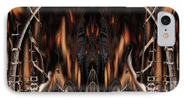 Bad Ride IPhone Case by Steve Sperry