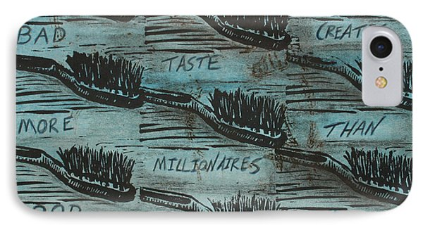 Bad Taste IPhone Case by William Cauthern