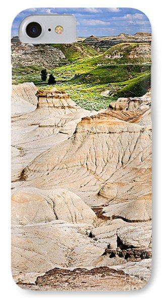 Badlands In Alberta Phone Case by Elena Elisseeva