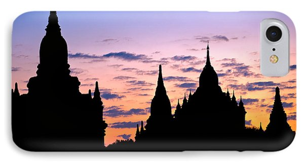 IPhone Case featuring the photograph Bagan by Luciano Mortula
