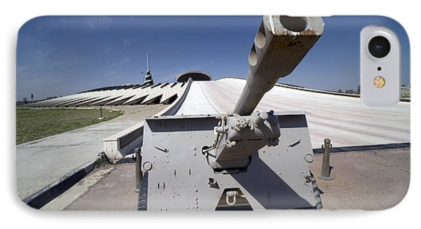 Baghdad, Iraq - An Iraqi Howitzer Sits Phone Case by Terry Moore