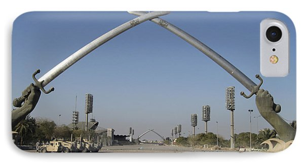 Baghdad, Iraq - Hands Of Victory IPhone Case