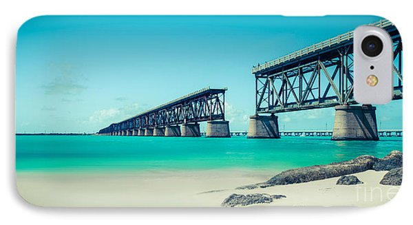 Bahia Hondas Railroad Bridge  Phone Case by Hannes Cmarits
