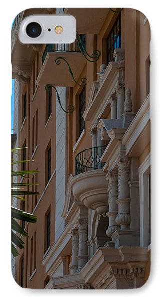 IPhone Case featuring the photograph Balcony At The Biltmore Hotel by Ed Gleichman