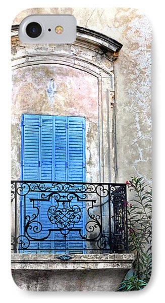 IPhone Case featuring the photograph Balcony Provence France by Dave Mills