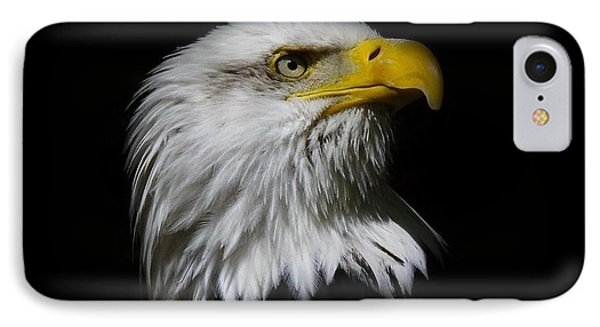 IPhone Case featuring the photograph Bald Eagle by Steve McKinzie