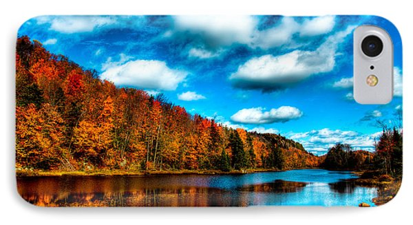 Bald Mountain Pond II Phone Case by David Patterson