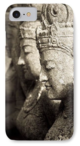 Bali, Indonesia, Asia Stone Statues Phone Case by Keith Levit