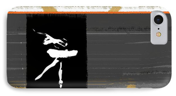 Ballerina  IPhone Case by Naxart Studio