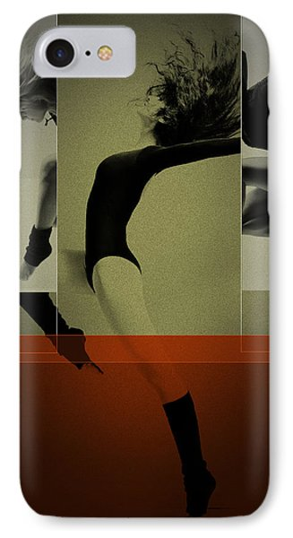 Ballet Dancing IPhone Case by Naxart Studio