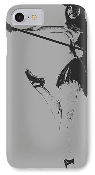 Ballet Girl IPhone Case by Naxart Studio