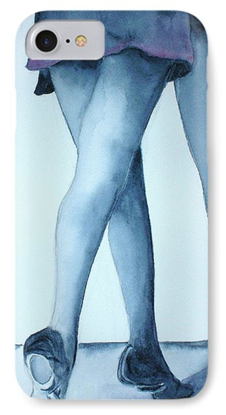 Ballet Legs IPhone Case by Mary Kay Holladay
