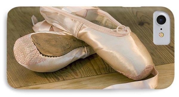 Ballet Shoes Phone Case by Jane Rix