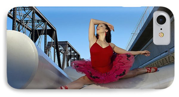Ballet Splits Phone Case by Michael Yeager