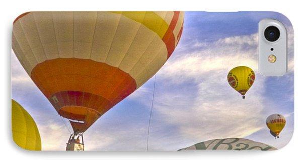 Balloon Ride Phone Case by Heiko Koehrer-Wagner